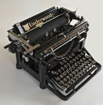 Blogging old school. (Image from Wiki Commons.)