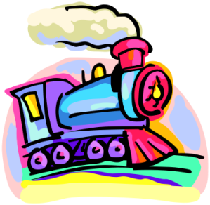 An overworked train metaphor chugging away... (Image via Wiki Commons)