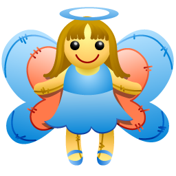 A fairy. Not like my fairies. (Source)