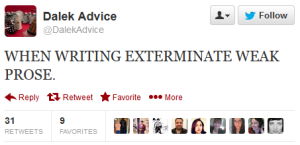 Dalek Advice