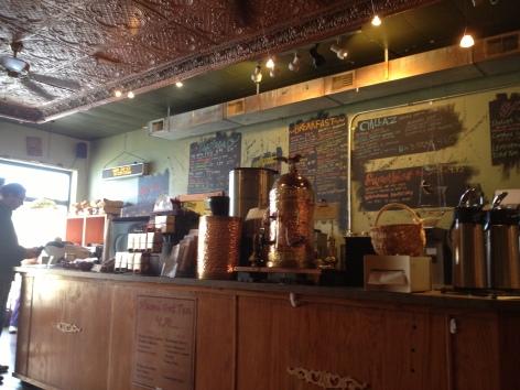 Nicole Evelina coffee house