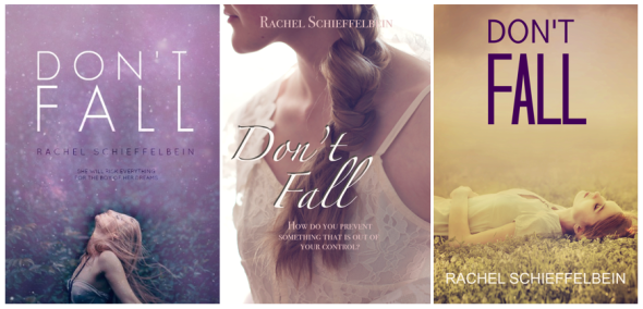 Dont Fall Cover Reveal Options
