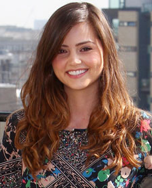 Jenna-Louise Coleman, who looks a lot like I imagine Isla would. (Source.)