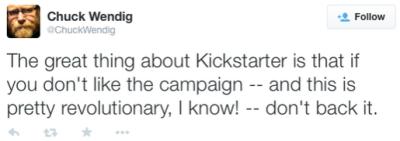 Chuck Wendig Kickstarter