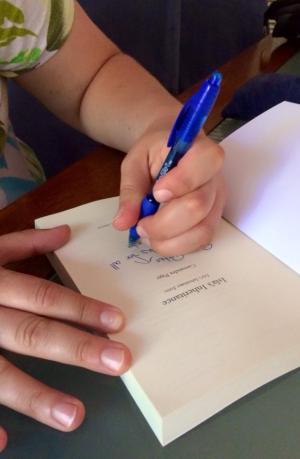 Isla's Inheritance signing