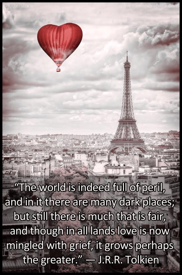 Paris meme Tolkein