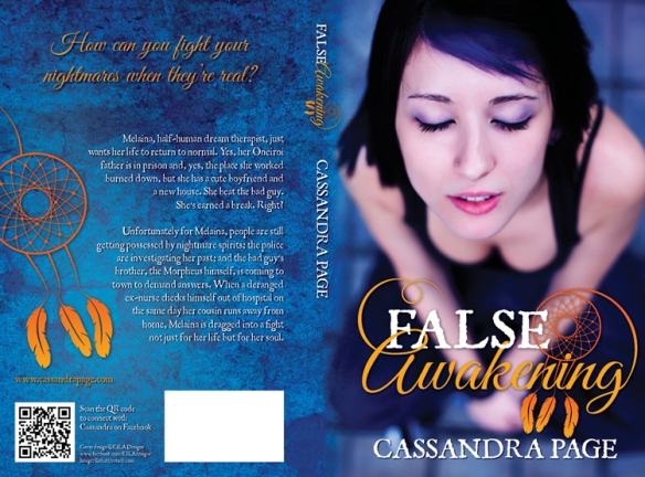 False Awakening' ('Lucid Dreaming' #2) cover reveal and
